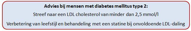 Behandeling cholesterol diabetes