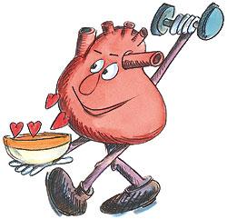 Beweging werkt cholesterolverlagend